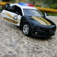 "Chevrolet Camaro Police 911 Model Cars Alloy Diecast 5"" Toys Gifts Children"