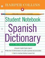 HarperCollins Student Notebook Spanish Dictionary (Collins Language) (Spanish E