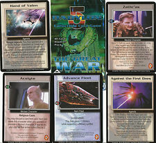 Babylon 5 Great War Uncommon card Set (100)