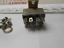 8838KP1 TOGGLE SWITCH  ON-OFF-ON 3 POSITIONS MAINTAIN WITH BRACKET  NOS