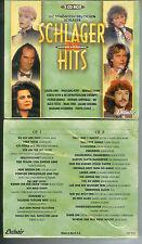 SCHLAGER HITS - 2 CDs NEU & OVP Trude Herr/Anne Haigis/FUX/Strandjungs/IBO u.a