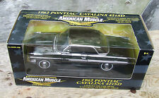 ERTL 1-18 '62 Pontiac Catalina 421 SD ULTRA RARE CHROME CHASE CAR