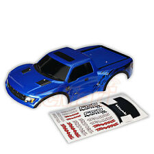 Traxxas Ford Raptor Pre-Painted Slash 4x4 Body Blue EP 1:10 RC Cars Truck #5815A