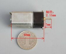 1pcs 130 full metal gear motor DC motors 6V30 rpm /12V60 rpm /24V120rpm