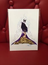 "Disney's Wonderground Gallery ""Her Sleep"" Aurora & Maleficent: J Scott Campbell"