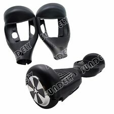 "Black Silikon Cover Schutzhülle For 6.5"" Hoverboard Balance Scooter 2 Wheels New"
