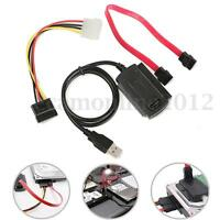 New SATA/PATA/IDE to USB 2.0 Adapter Converter Cable for 2.5'' 3.5'' Hard Drive
