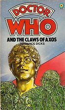 DOCTOR WHO  THE CLAWS OF AXOS by TERRANCE DICKS  3rd DOCTOR  TARGET PAPERBACK