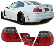 2 FEUX ARRIERE A LED RED FUME BMW SERIE 3 E46 COUPE 320 Ci 04/1999-03/2003