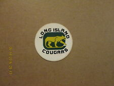 NAHL Long Island Cougars Vintage Defunct Hockey Sticker