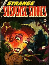 STRANGE SUSPENSE STORIES COMICS GOLDEN AGE PDF ON CD