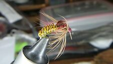 Spring Summer Czech Weighted Wire Woven Caddis Wet Fly Nymph For Trout Grayling