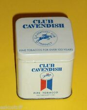 Club Cavendish Pipe Tobacco 1 OZ Tobacco Tin - Lift Up Top Nice  See!