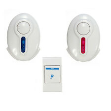Led Wireless Door Bell - 1 Remote Control 2 Wireless digital Receiver Doorbell