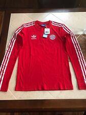 BNWT FC Bayern Munchen Adidas Longsleeve Jersey Shirt Sz Small Deadstock