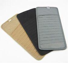New Car Sun Visor Sun Shade CD DVD Holder Case Disk Card Storage Bag Clipper LG
