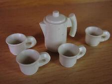 p84B- Playmobil - Geschirr -5teilig Kaffeeservice