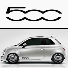Para Fiat 500 - 2 X Puerta-VINILO COCHE DECAL STICKER ADHESIVO - 300mm de largo