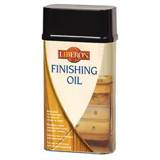 Liberon Finishing Oil 250ml Wood Protection Ideal for Kitchen or Bathroom