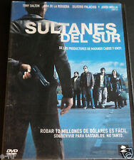 SULTANES DEL SUR Movie DVD REGION 1 + 4 In Spanish Tony Dalton Ana De La Reguera