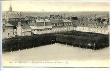 CP 60 OISE - Compiègne - Vue prise de la Terrasse du Château