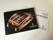 New - Catalogue Catálogo CORUM Watches Collection 2011-2012  - For Collectors