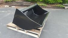 "New 48"" Wain Roy Style Ditch Cleaning Backhoe Bucket to fit 1/4 yd. Coupler"