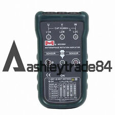MS5900 3 Motor Phase Rotation Indicator Meter Sequence Tester LED Fit FLUKE