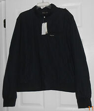 Members Only Navy Iconic Racer Jacket Size XL NWT