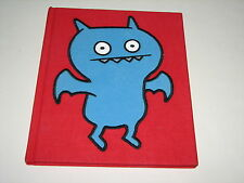Pretty Ugly Uglydolls Doll Chilly Chilly Ice Bat Cloth Covered Book Rare HTF