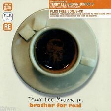 Terry Lee Brown Jr. - Brother For Real - LIMITED 2CD - HOUSE - PLASTIC CITY