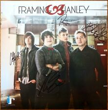 FRAMING HANLEY Sum Of Who We Are Ltd Ed Signed By All 4 RARE Poster +FREE Poster