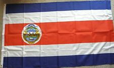 COSTA RICA STATE INTERNATIONAL WORLD COUNTRY POLYESTER FLAG 3 X 5 FEET