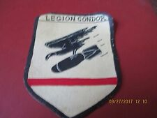 WWII LUFTWAFFE FIGHTER LEGION CONDOR SPAIN   FLIGHT JACKET   PATCH