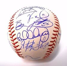 Troy Glaus Vernon Wells Hill 2006 Blue Jays Baseball Ball team Signed Autograph