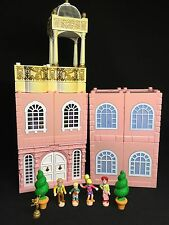 Polly Pocket Mini �� 1999 Stapelhaus Deluxe Mansion - Dream Builders