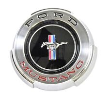 NEW 1965 Ford Mustang Gas Cap Chrome Twist on with cable