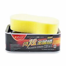 Anti-aging Car Solid Polish Wax Cleaner High Gloss for Metallic Paint Vehicles