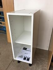 WHITE FLAT PACK KITCHEN UNITS CABINETS Cooke & Lewis 300mm BASE - New x TWO