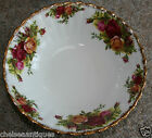 Original 1962 Royal Albert Old Country Roses DISH/SALAD-SOUP BOWL White Floral