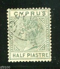 Cyprus Stamp #11  Used Sound