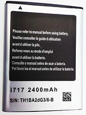 BRAND NEW Samsung Galaxy Note SGH i717 T879 i9220 N7000 Li.ion Battery 2400 mAh