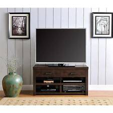 TV Stands For Flat Screens Entertainment Center With Drawers Cabinet Media Wood