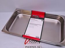 NEW Tramontina ProLine 9 Qt. Full-Size Food Pan Stainless Steel 800180 Y28