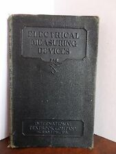 1929 International Textbook Company Electrical Measuring Devices