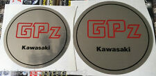 KAWASAKI GPZ GPZ750A GPZ1100A GPZ750 TURBO  ENGINE COVER DECALS EMBLEMS