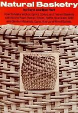 Natural Basketry by Dan Hart and Carol Hart (1976, Paperback book) vintage craft