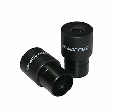 PAIR High Point Spectacle 10x FOV 16mm for Compund Lab Microscope Eyepiece 23mm