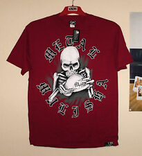 Metal Mulisha t-shirt Cross nuevo Kawasaki rojo Skull freestyle MTB CR-f quad talla L