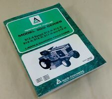 ALLIS CHALMERS 900 SERIES 912-6 SPEED 912-H LAWN GARDEN TRACTOR OPERATORS MANUAL